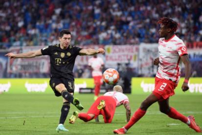 Lewandowski scores his sixth goal of the season